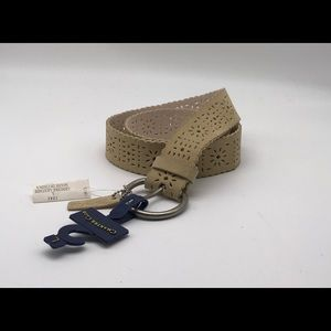 Women's Charter Club Leather Belt NWT #0107